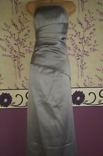 Forever Yours Grey Long Dress size 6 Prom/Bridesmaid/Formal/Evening/Cruise