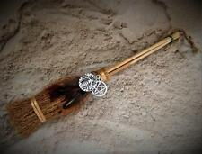 HONEY BEE BROOM Besom w Bee & Pentacle Charm, Witch's Broom ~Wicca Witchcraft