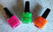 NEON NAIL POLSH - Eva Supreme Nail Polish - NEON Set - Pink Orange Green