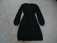 Strickkleid ESPRIT COLLECTION, S, mit Kaschmir / Cashmere, schwarz, RAR!!!