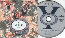 Yello CD-SINGLE TIED UP IN RED (c) 1988  CARDSLEEVE