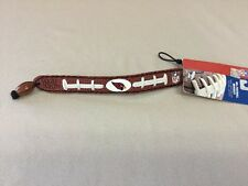 "Nfl Football 7"" Bracelet Made From Genuine Football Leather Arizona Cardinals"