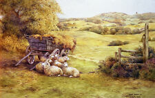 Bredon Hill.Worcestershire .Signed Artists print