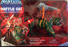 "MOTU Masters of the Universe 10"" Battle Cat Heroic Fight Tiger"