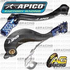 Apico Negro Azul Freno Trasero & Gear Pedal Palanca Para Yamaha Yz 250f 2006 Motocross