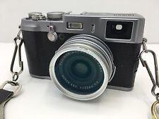 Fujifilm X Series X100 12.3 MP Digital Camera - Silver