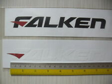 2 FALKEN Tyres di-cut vinyl sticker decals, JDM aftermarket racing sponsor.