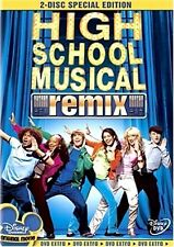 High School Musical Remix 2-Disc Special Edition Set NEW Disney Channel