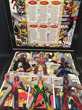 "1998 TOYBIZ GIANT SIZED X MEN BOXED SET OF SIX 5"" SCALE FIGURES COMPLETE RARE!!!"
