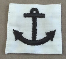 US Navy Seaman Apprentice Training Graduate Rating Badge Poplin