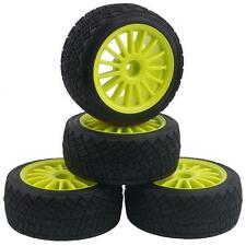 WR8 Tarmac Wheel Green With Tires 4pcs For HPI Rally Off-Road WR8 tyres