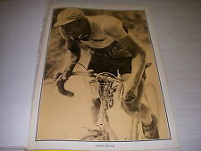 CYCLISME PHOTO 24 SEPIA COUPURE REVUE ANDRE LEDUCQ
