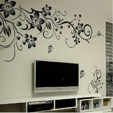 GOTHIC BLACK VINES  | Wall art sticker quote vinyl decor decal transfers