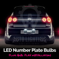 VW Golf MK5 V TSI GTI TDI R32 LED 2003-2008 Number Plate / License Light Bulbs