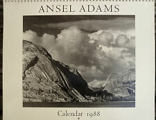 Ansel Adams Calendar 1988, photographie, Ansel Adams, photographie,