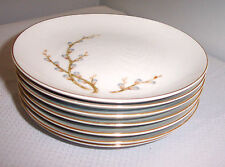 CENTURY CHINA PATTERN BROOK WILLOW SEVEN LOT BREAD AND BUTTER  PLATES 6 1/2""