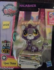 ☆ Littlest Pet Shop ☆ CHEETAH PUMA  #125 ☆ UPESI DUMA ☆ PETS IN THE CITY RAR NEU
