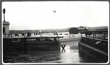 VINTAGE PHOTOGRAPH 1930-34 WELLAND CANAL LOCKS ONTARIO CANADA NEW YORK OLD PHOTO