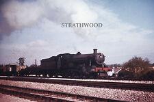 COLOUR RAIL Hall Class 7914 near Twyford c1962 Railway Slide