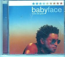 (EK453) BabyFace, There She Goes - 2001 DJ CD