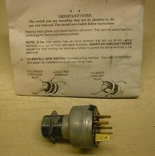 1963 Chevy Nova or Chevy II Ignition Switch
