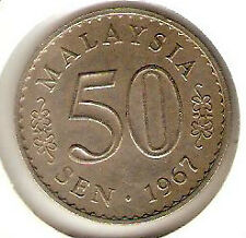 Offer Malaysia Parliament 50sen coins 1967, 1968 n 1969 complete set-High Grade!