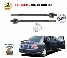 FO MITSUBISHI LANCER 1.6 2.0 2003- NEW 2X INNER STEERING TRACK RACK TIE ROD ENDS