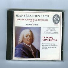 CD J.S.BACH ANDRE ISOIR ORGAN WORK VOL 7