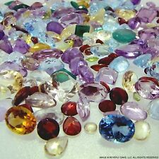200+ Carats Mixed Gem Natural Loose Gemstone Mix Lot Wholesale Loose Mixed Gemst
