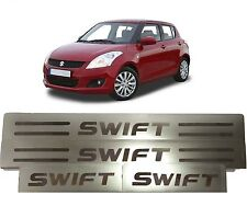 Stainless Steel Door Sill Scuff Plates Footstep Maruti Suzuki Swift (All Models)