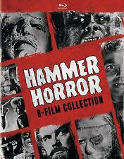 HAMMER HORROR :8 FILM COLLECTION BLU RAY - Sealed Region free for UK