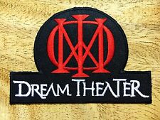DREAM THEATER BAND HEAVY METAL LOGO MUSIC SEW EMBROIDERY IRON ON PATCH BADGE.