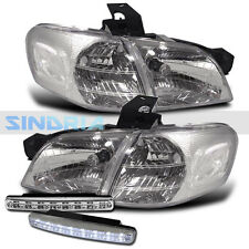 97 98 99 00-05 CHEVY VENTURE DIRECT REPLACEMENT HEADLIGHT CORNER + DRL FOG LIGHT