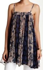 Free People Secret Love Top In Dark Blue Size XS NWT