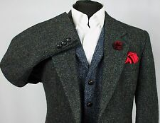 Mens Harris Tweed Blazer Jacket Wedding Country 42S EXCEPTIONAL GARMENT 287