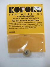 1/24 Scale Slot Car KOFORD Red Dot 38 tooth gear #m541-38