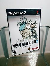 Metal Gear Solid 2 Substance from Essential Collection Complete PS2