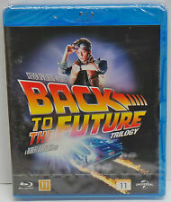 Back To The Future Trilogy 1 / 2 / 3 Blu-ray SBox Set - NEW - (Steven Spielberg)