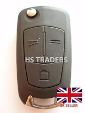 For Vauxhall OPEL ASTRA VECTRA 3 Button Remote Flip Key Fob Case with blade
