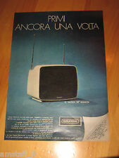 GRUNDIG SENSOR TV TELEVISORE=ANNO 1973=PUBBLICITA=ADVERTISING=