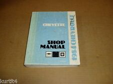 1984 Chevrolet Chevette shop service dealer repair manual