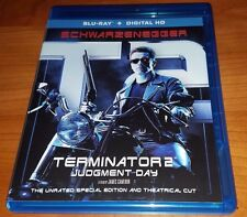 T2 Terminator 2 Judgment Day Blu Ray Remastered Arnold Schwarzenegger