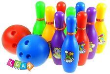 Bowling Set 10+2 Kegelspiel Kegel Kugel Kinderbowling