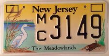 New Jersey Conserve Wildlife license plate turtle heron bird Environment Nature