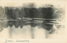 A View of the Dam, Candor NY RPPC