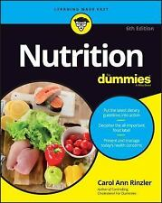 Nutrition for Dummies by Carol Ann Rinzler (2016, Paperback)