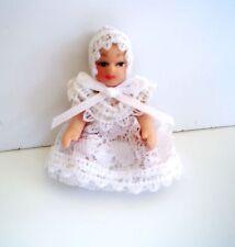 1:12 - Süßes Miniatur Porzellan-Baby  für das Puppenhaus
