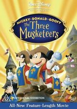 Mickey, Donald and Goofy in The Three Musketeers NEW R4 DVD