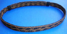 "Western Cowboy/Cowgirl HAT BAND Woven 5 Strand Horsehair 5/8"" Wide"