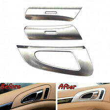 Fit For Cayenne 11-2016 6Pcs Inner Door Handle Button Bowl Decorative Cover Trim